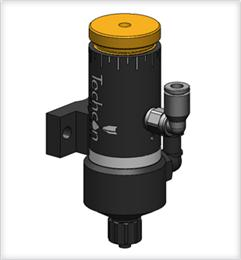 Techcon TS5622VD Diaphragm Valve Vertical Delrin